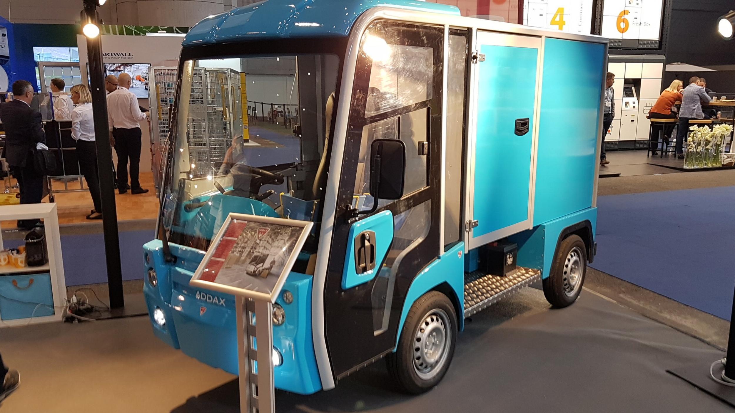 Addax electric van