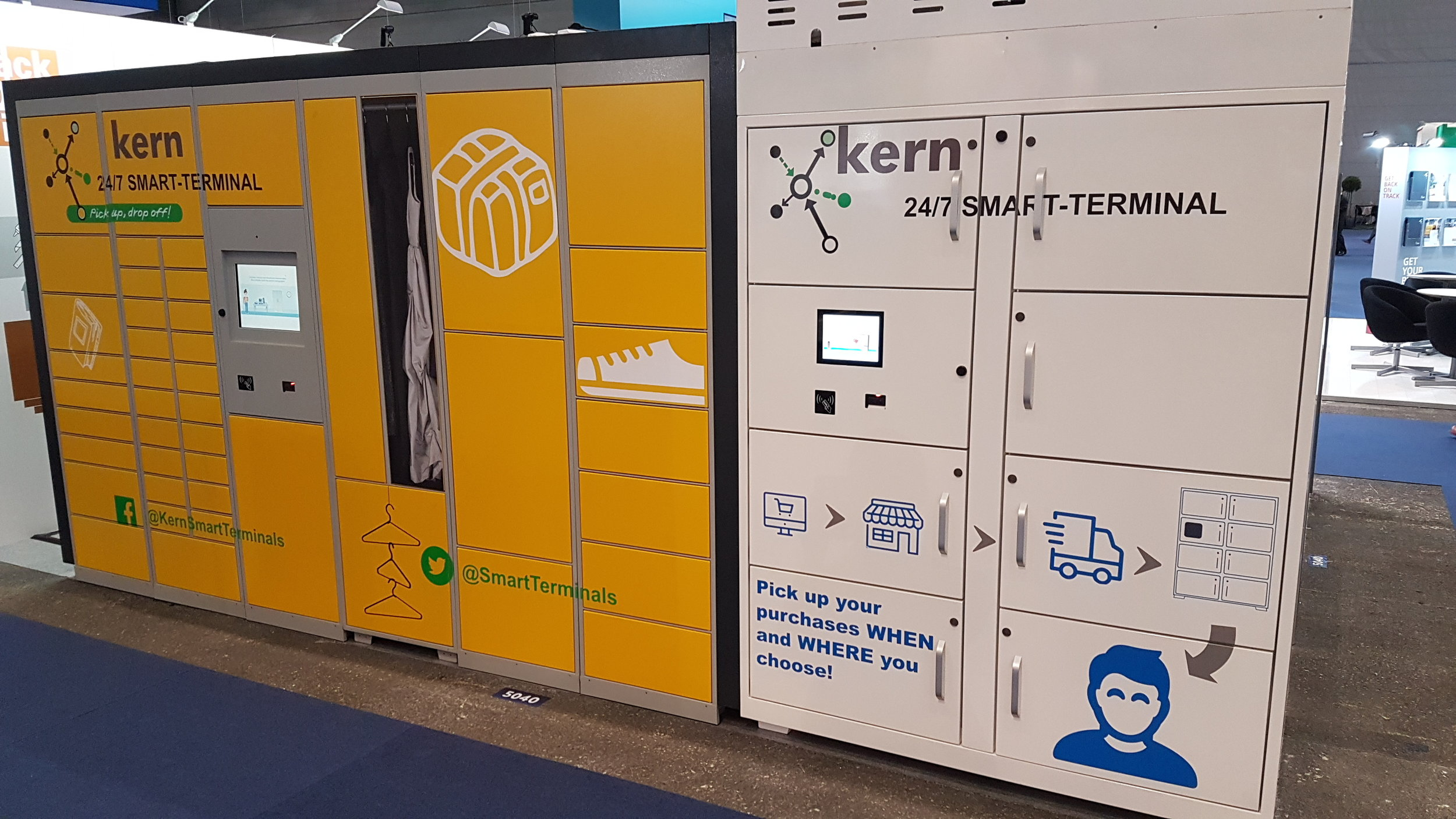 Refrigerated parcel lockers from Kern and its new partner Frigicoll
