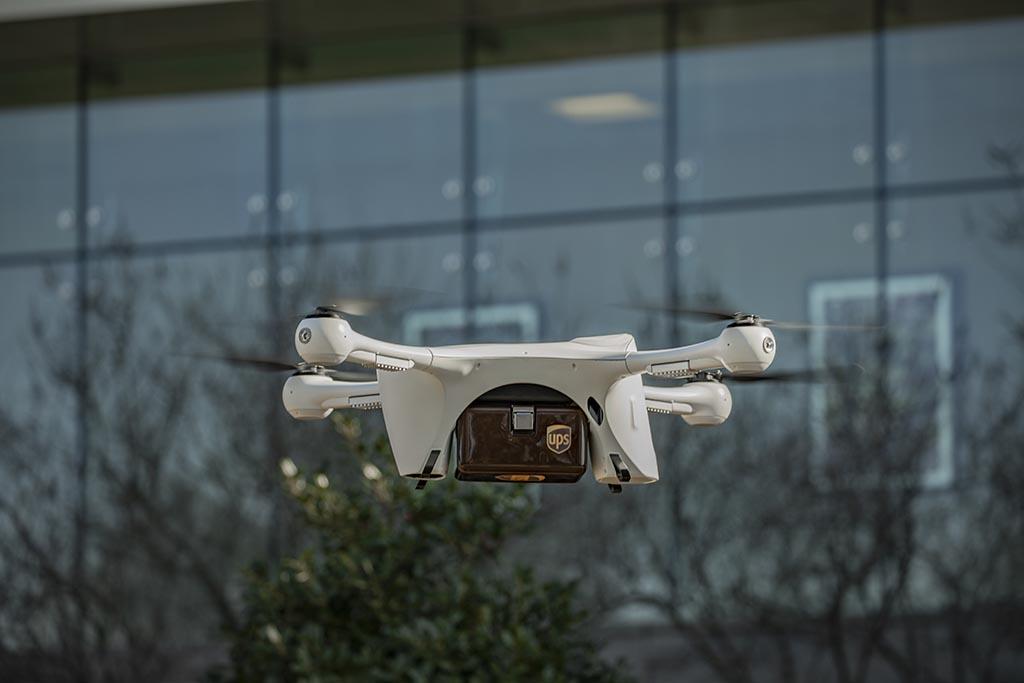 A drone that probably won't crash into Lake Zurich.