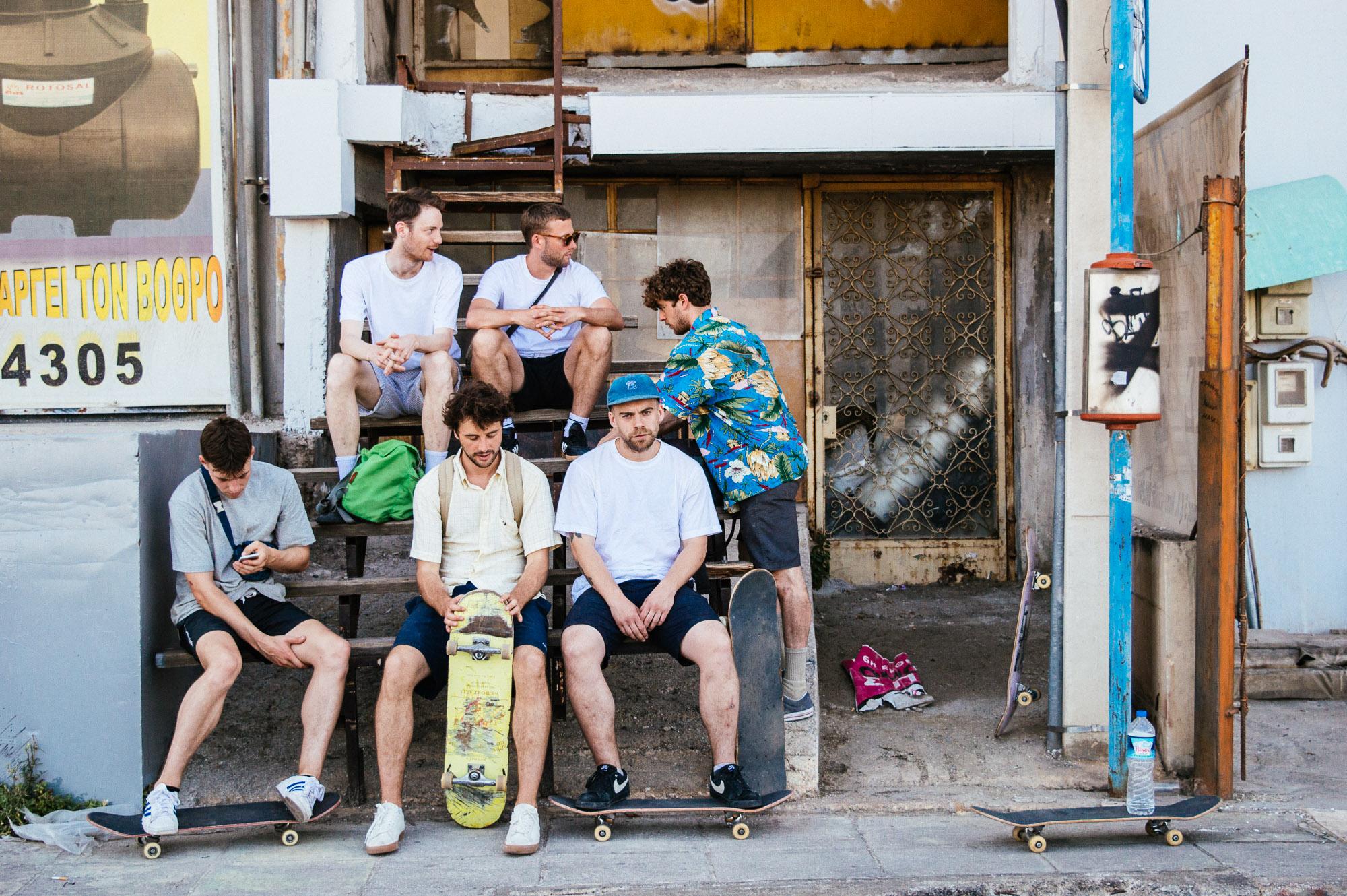 l-r: Chilli Hey, Jamie Walker, Darby Gough, George Gough, Wil Thomson & Matt McDowell