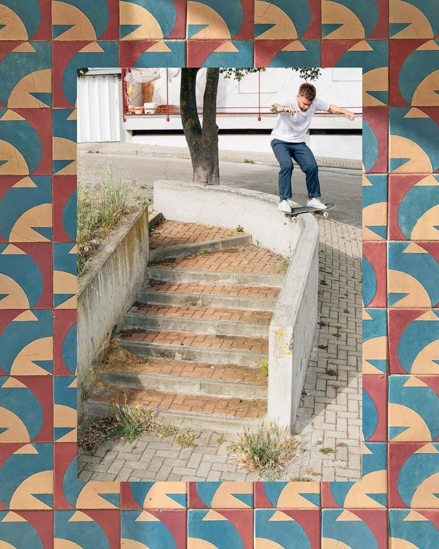 Wil Thomson | Boardslide | Almada 🇵🇹 Words and pictures from Lisbon now up 📝 Check the link in my bio 🔗