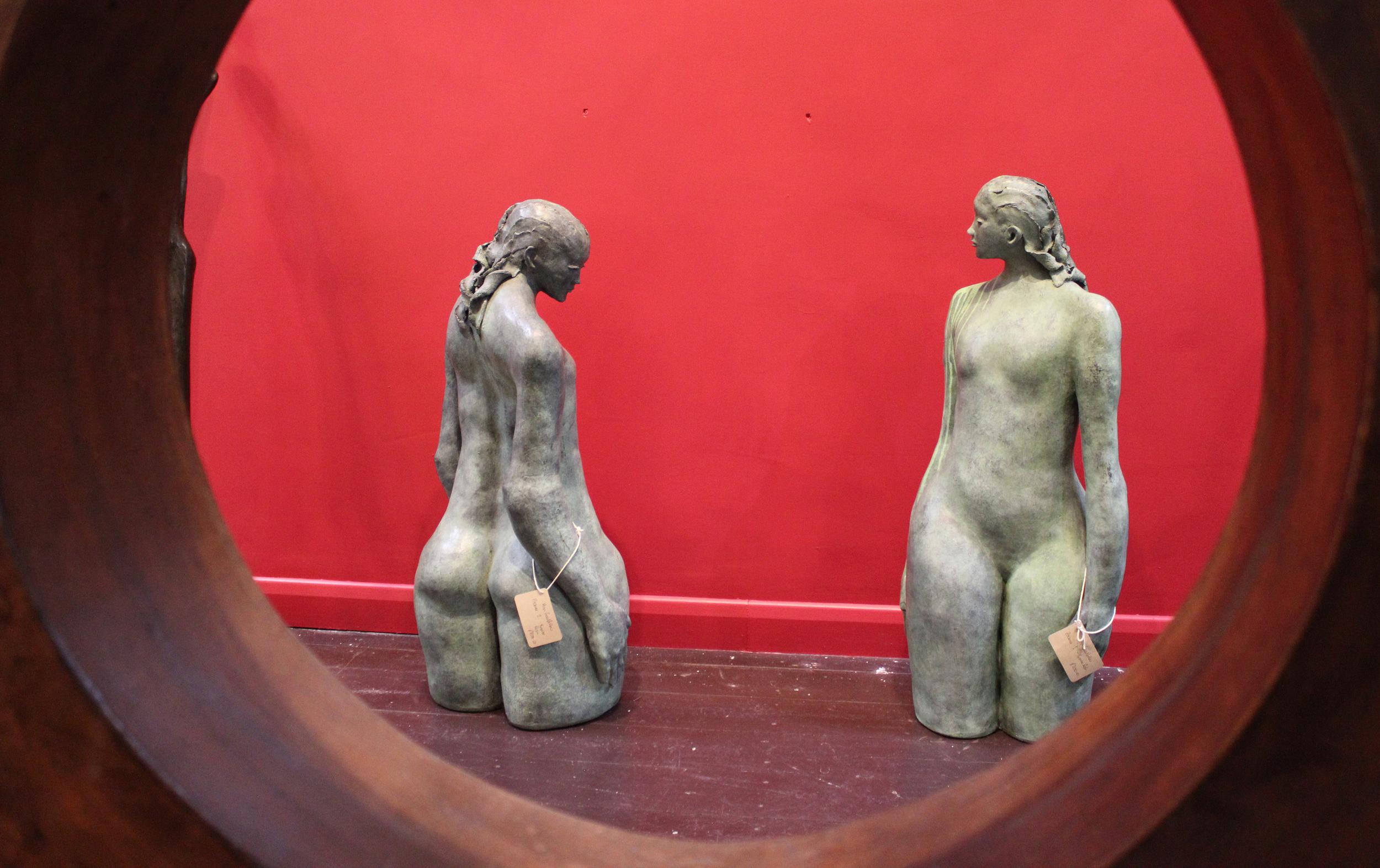 Bronze Resin Sculptures