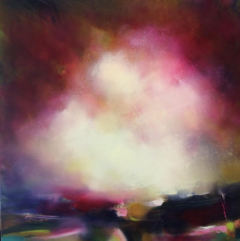 Laura Rich - Wiltshire based oil on linen artist, North York Moors series released at HIVE 2015