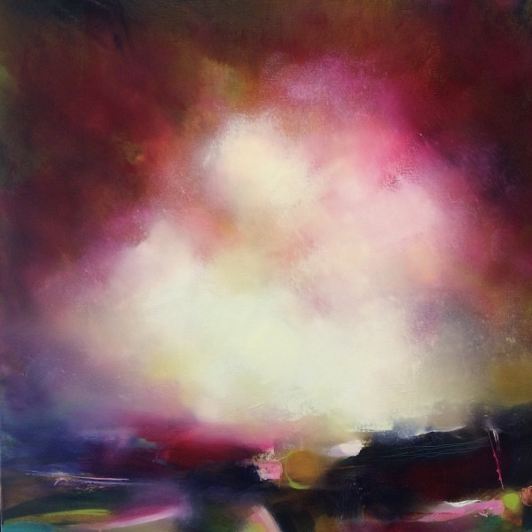 A Hint Of Autumn on the Moor - 60cm by 60cm