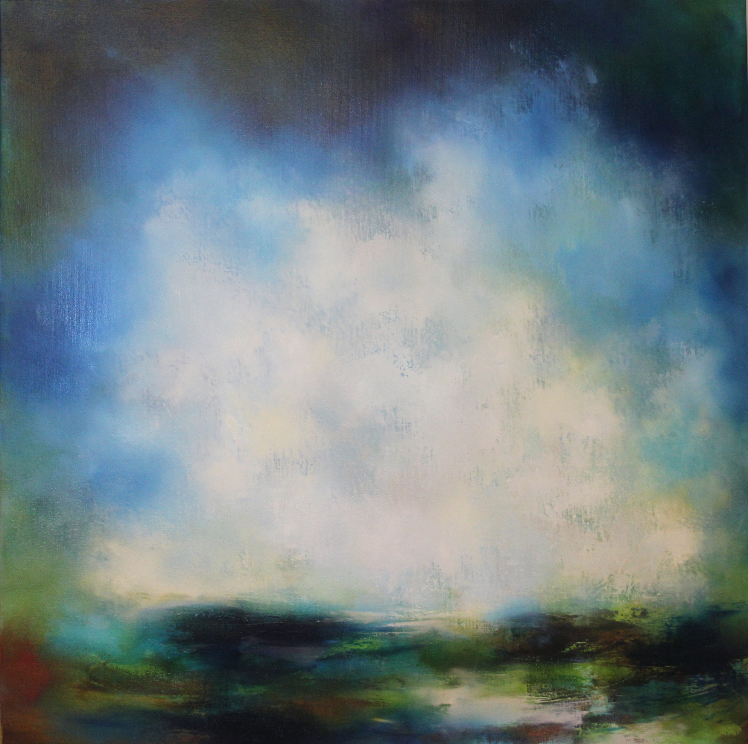 Remembering The Rockpools - 100cm by 100cm