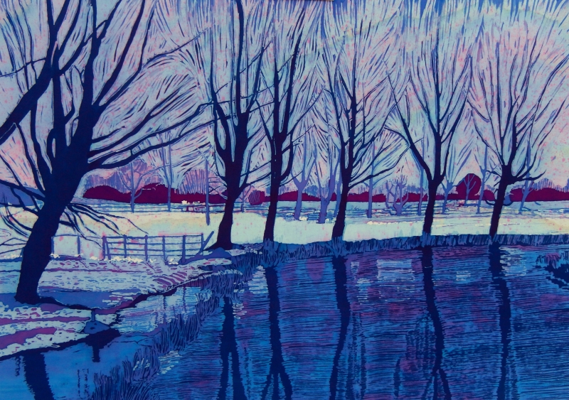 A Snowy Day - SOLD