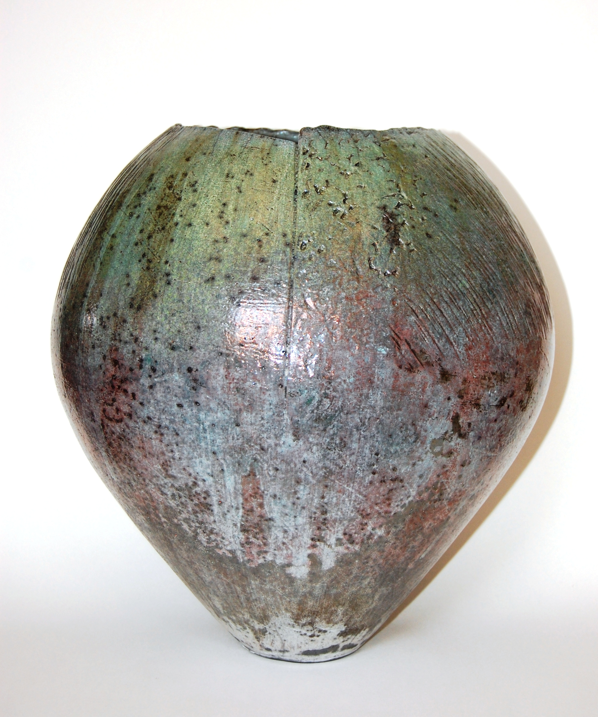 Green Rounded Vessel - £600.00