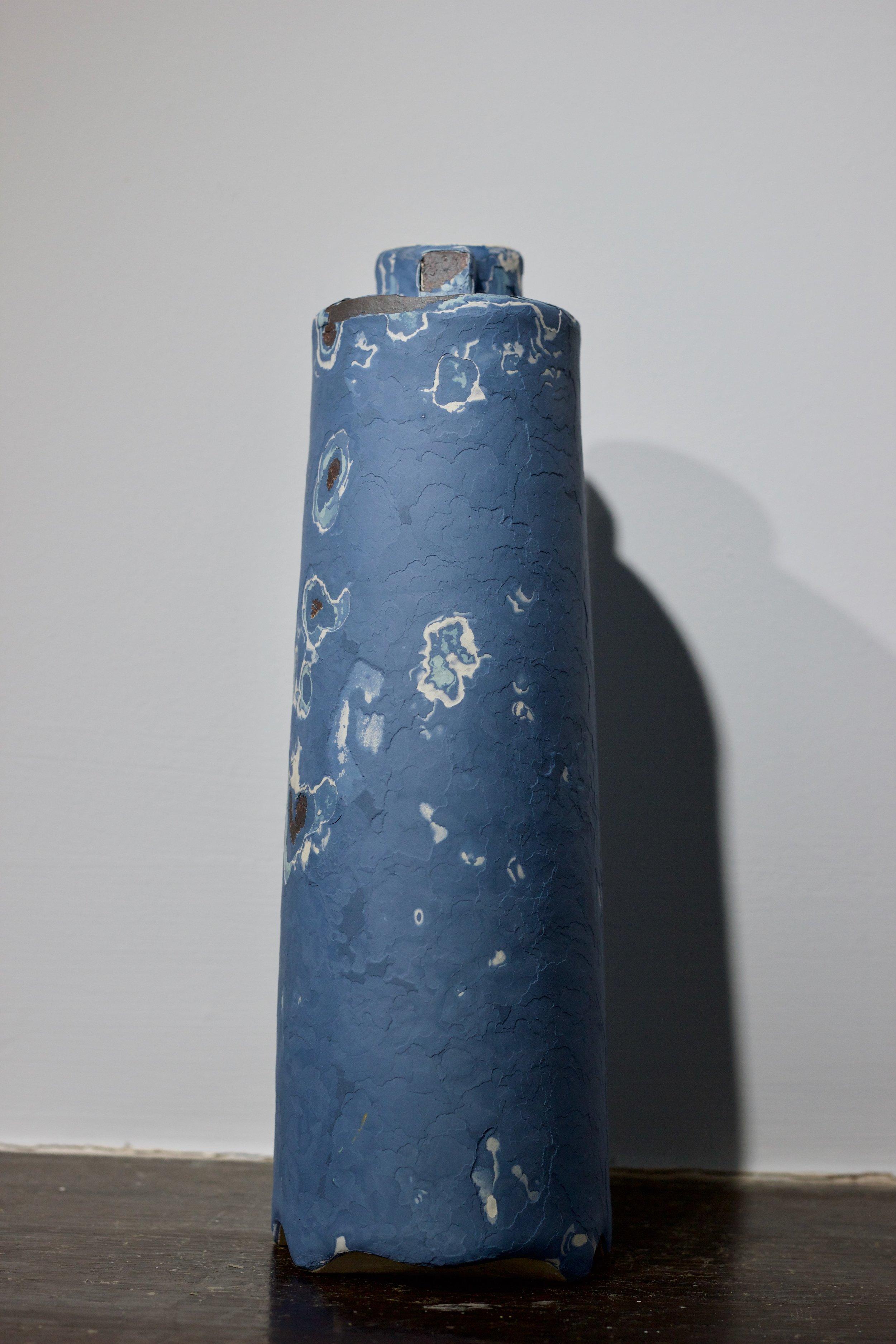 James Faulkner - Big Blue Bottle Vase