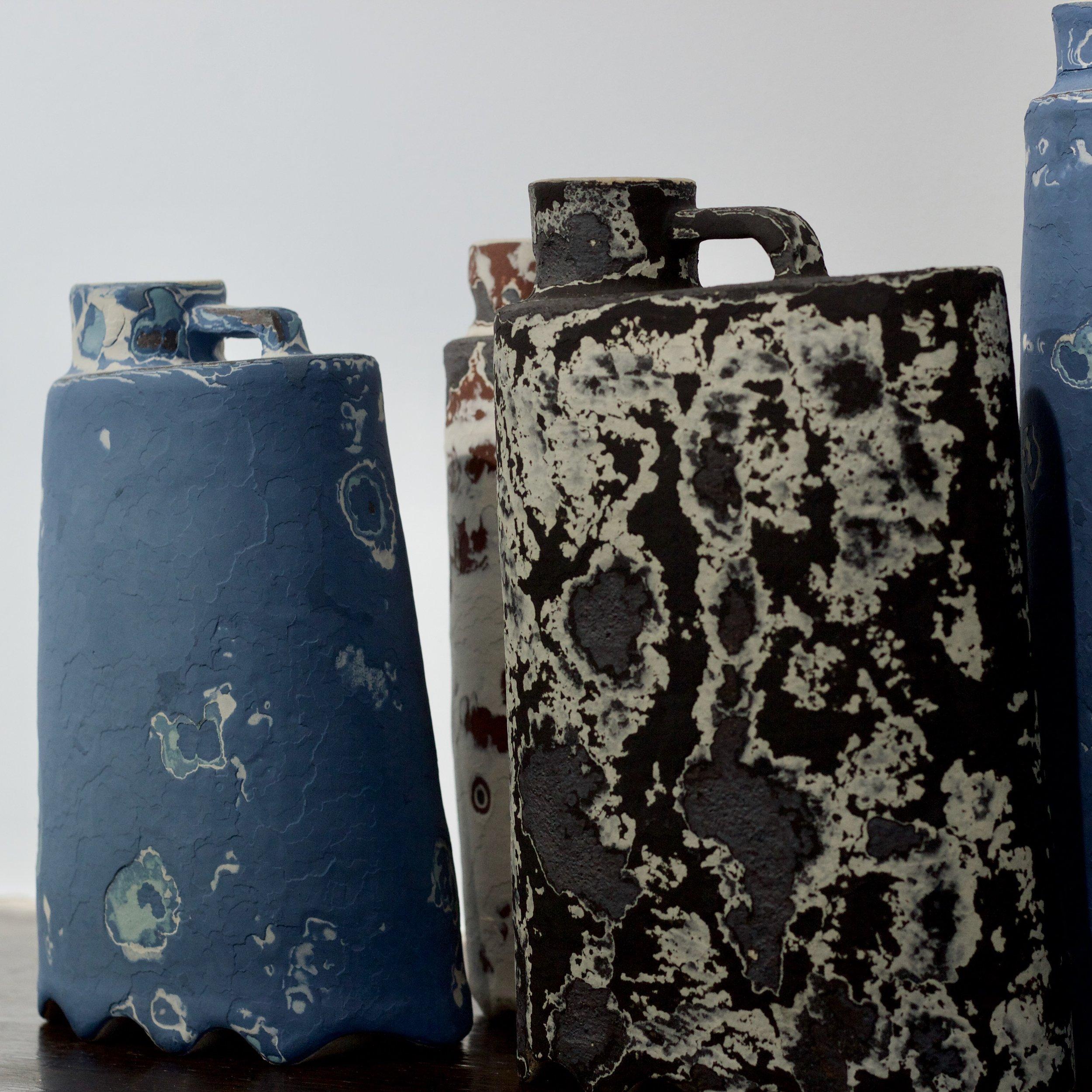 James Faulkner - Bottle Vases
