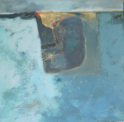 Morning Fields 61x61cm, mixed media on canvas.jpg
