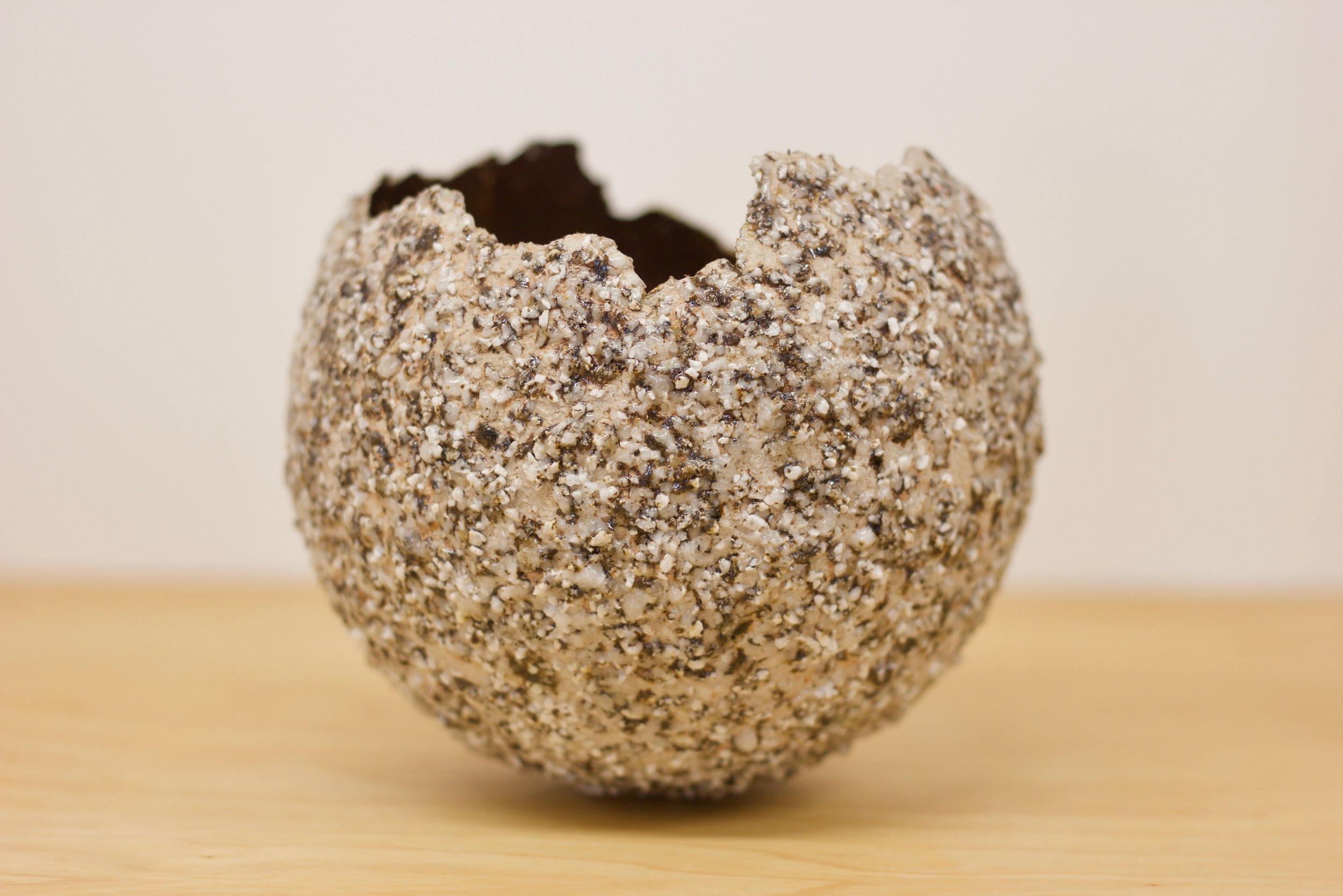 Shap Pink Granite Bronze Leaf Microcosm £155