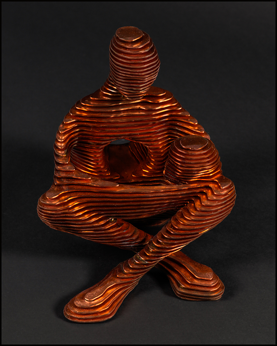 2015 Two III. 20cm x 30cm x 30cm mild steel; copper plate.jpg
