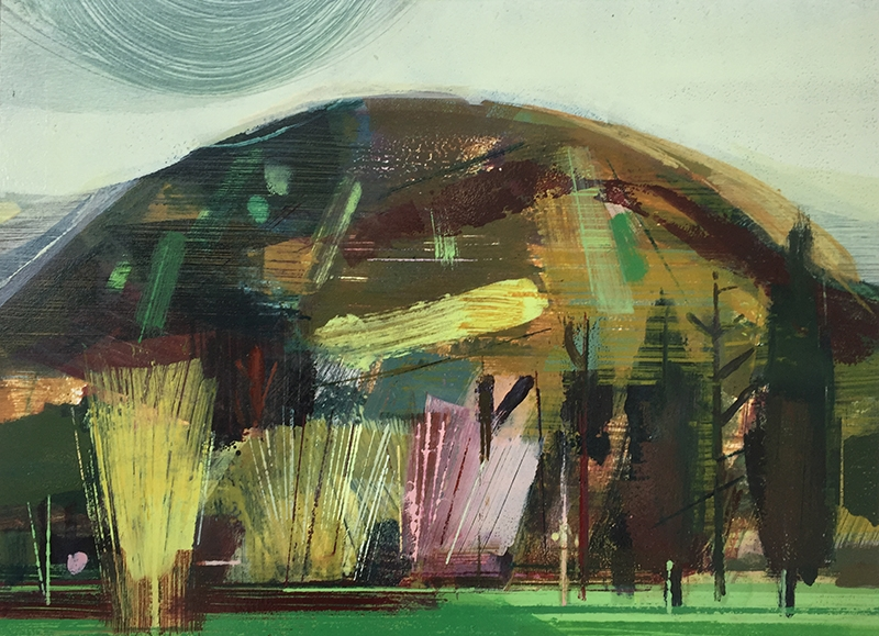 WANDERINGS VI - OIL ON PAPER£595