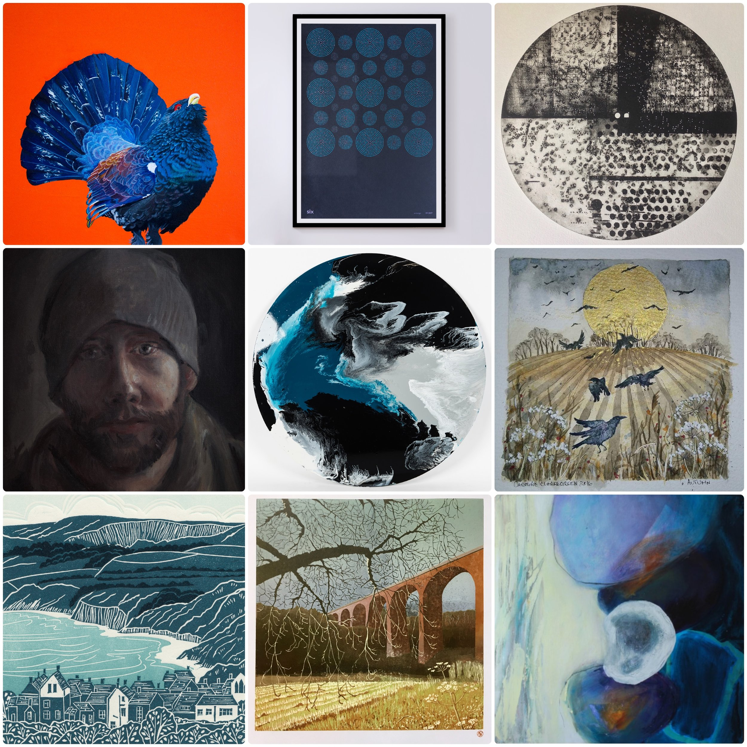 EMERGING ARTISTS EXHIBITION - 1ST SEPTEMBER TO 3RD NOVEMBER 201820+ TALENTED EMERGING ARTISTS ACROSS SEVERAL MEDIUMS