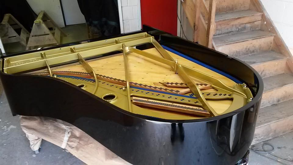 Schiedmayer Boudoir Grand Piano circa 1928 - fully renovated in 2014 and used for Swaledale Festival before retiring to Kirkbymoorside for sale. Click on the photo for more details of the piano and it's rebuild.
