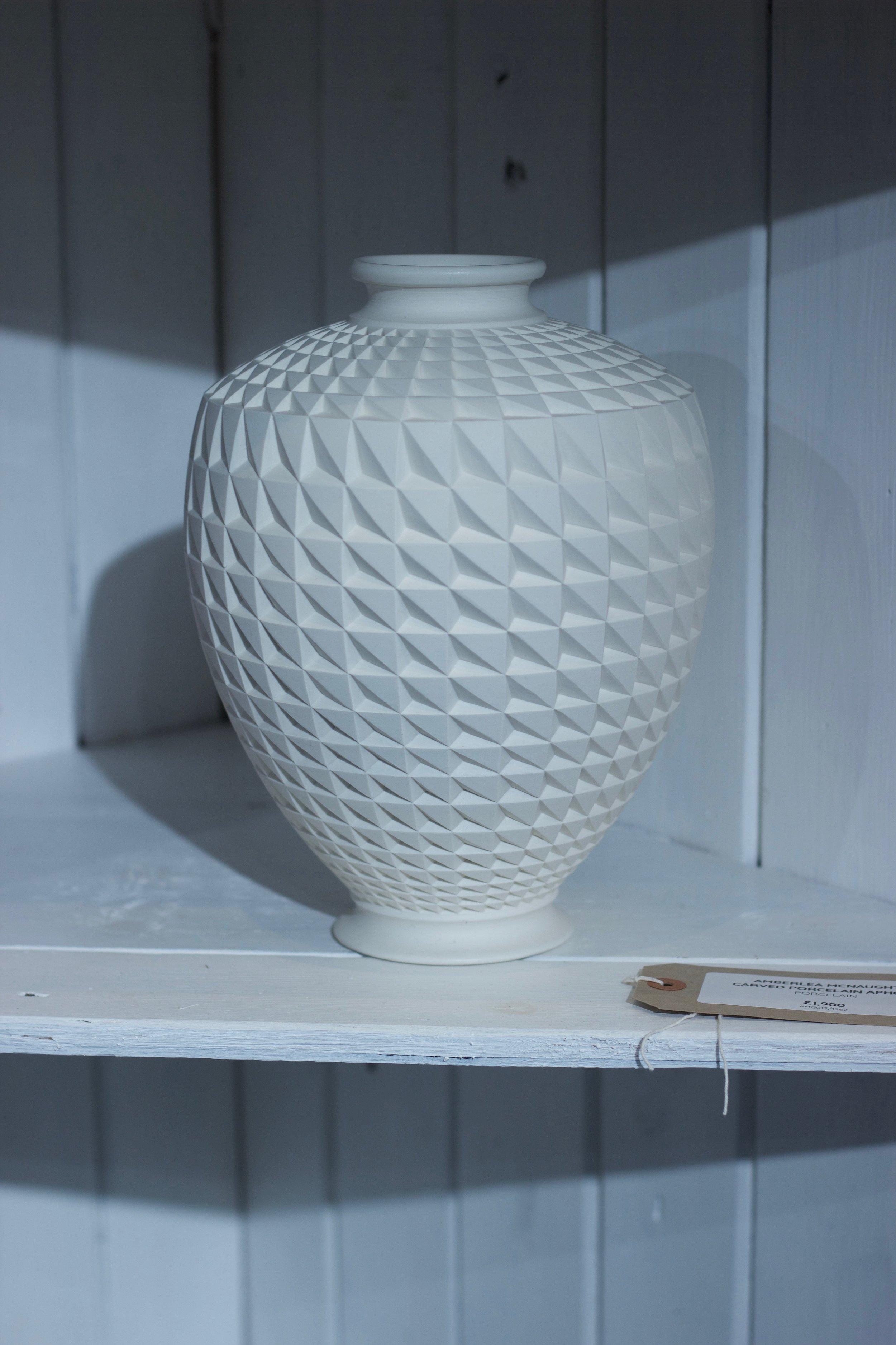 Amberlea McNaught - Carved Ceramics