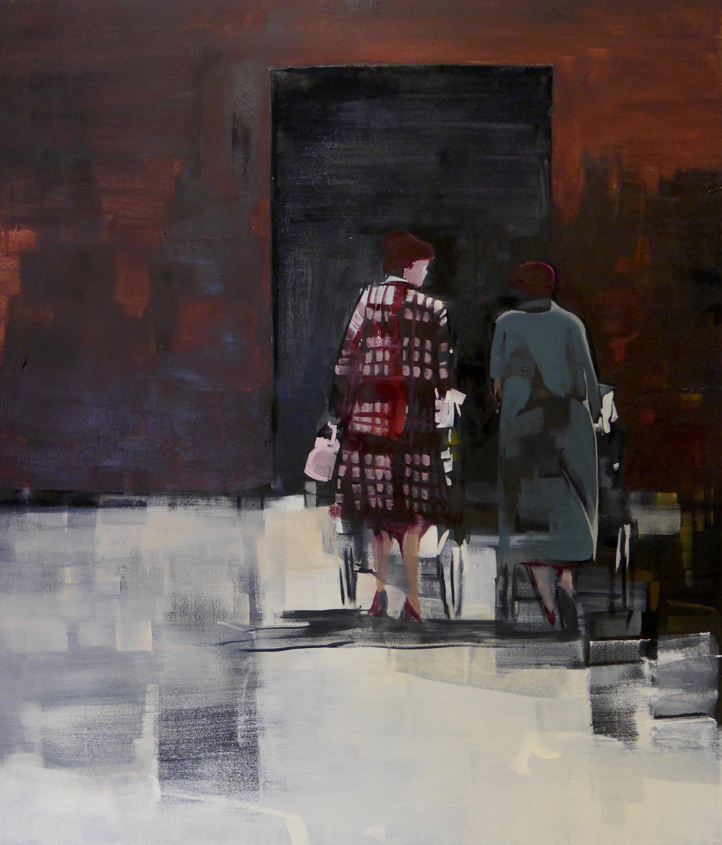 Walking Out. Angela Edwards 50 x 60.jpeg
