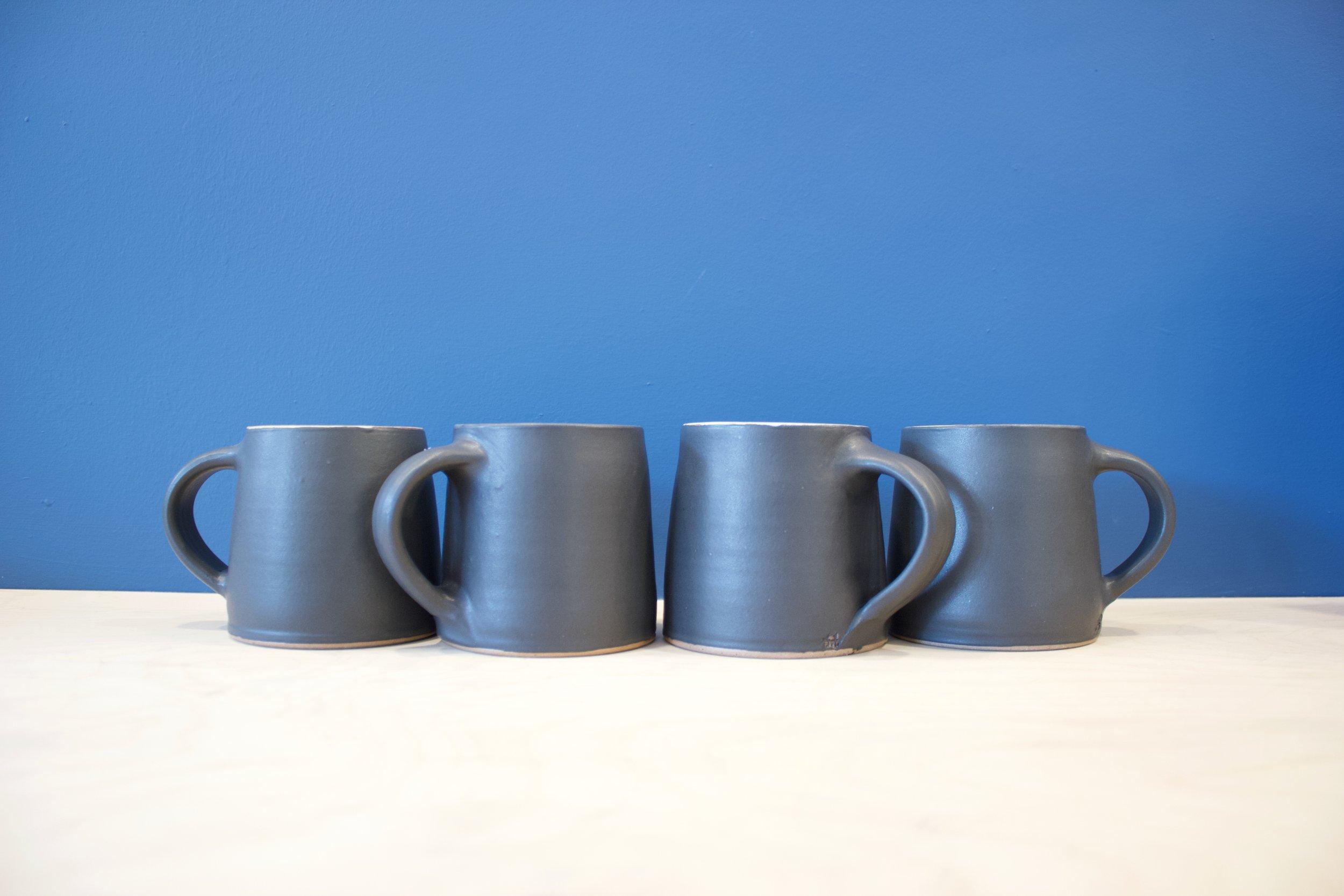 Ali Herbert - Black Mugs