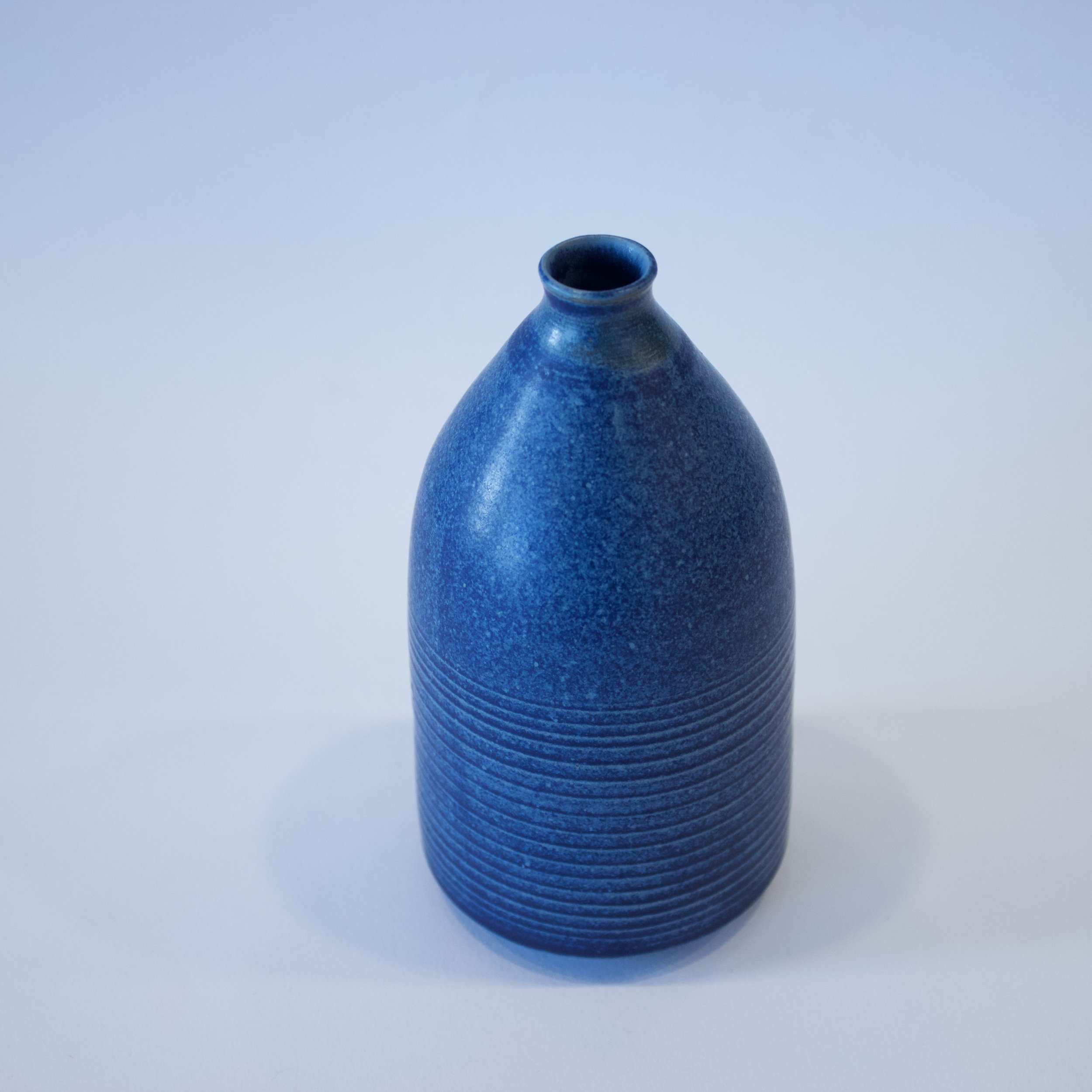 Kate Kirk - Matt Blue Vase - KK003