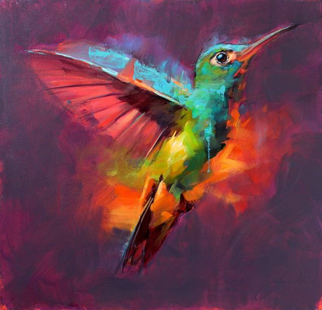 Humming birds by Jamel Akib are coming to the gallery this week. Trhy are so much more striking in the flesh. They don't tend to last long in the gallery so be quick! bilsandrye.com/jamel-akib #dealingintemptation #passionateaboutart #eclecticheaven #contemporaryart #artforeveryday #contemporarypaintings #artoninstagram #makinglifebeautiful #MakingArtAccessible #jamelakib  #kirkbymoorside #ryedale #northyorkmoors #NorthYorkshire
