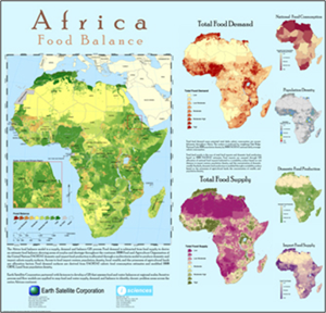 Geospatial Indicators of Food Security in Africa