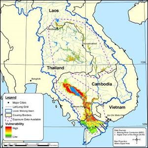 Flood Vulnerability in the Lower Mekong Basin