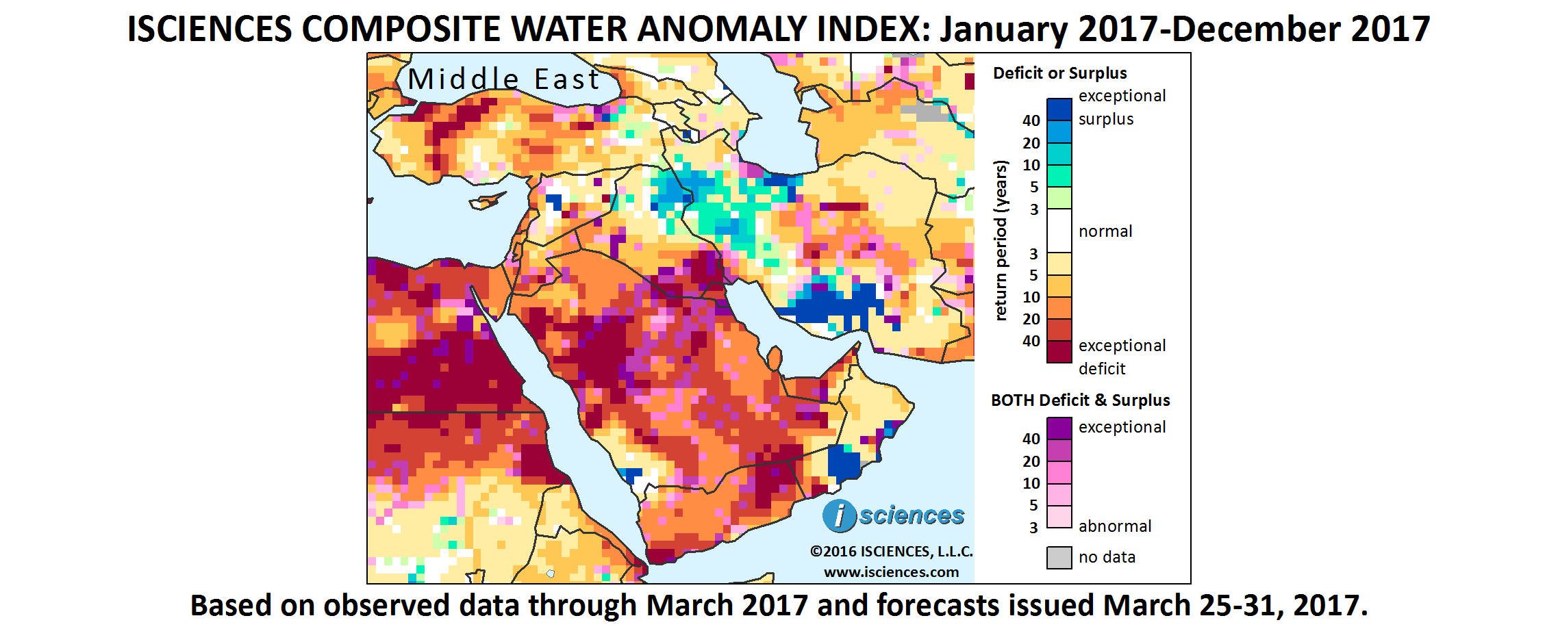 Middle East: Widespread water deficits ahead in Saudi Arabia