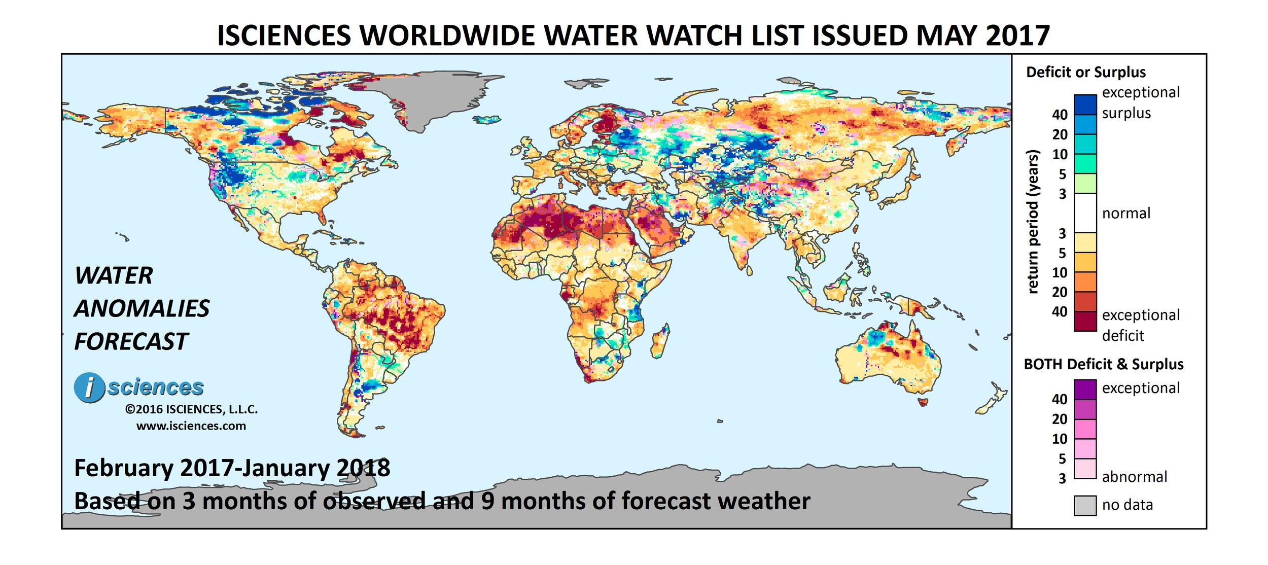 ISciences_Worldwide_Water_Watch_List_May2017