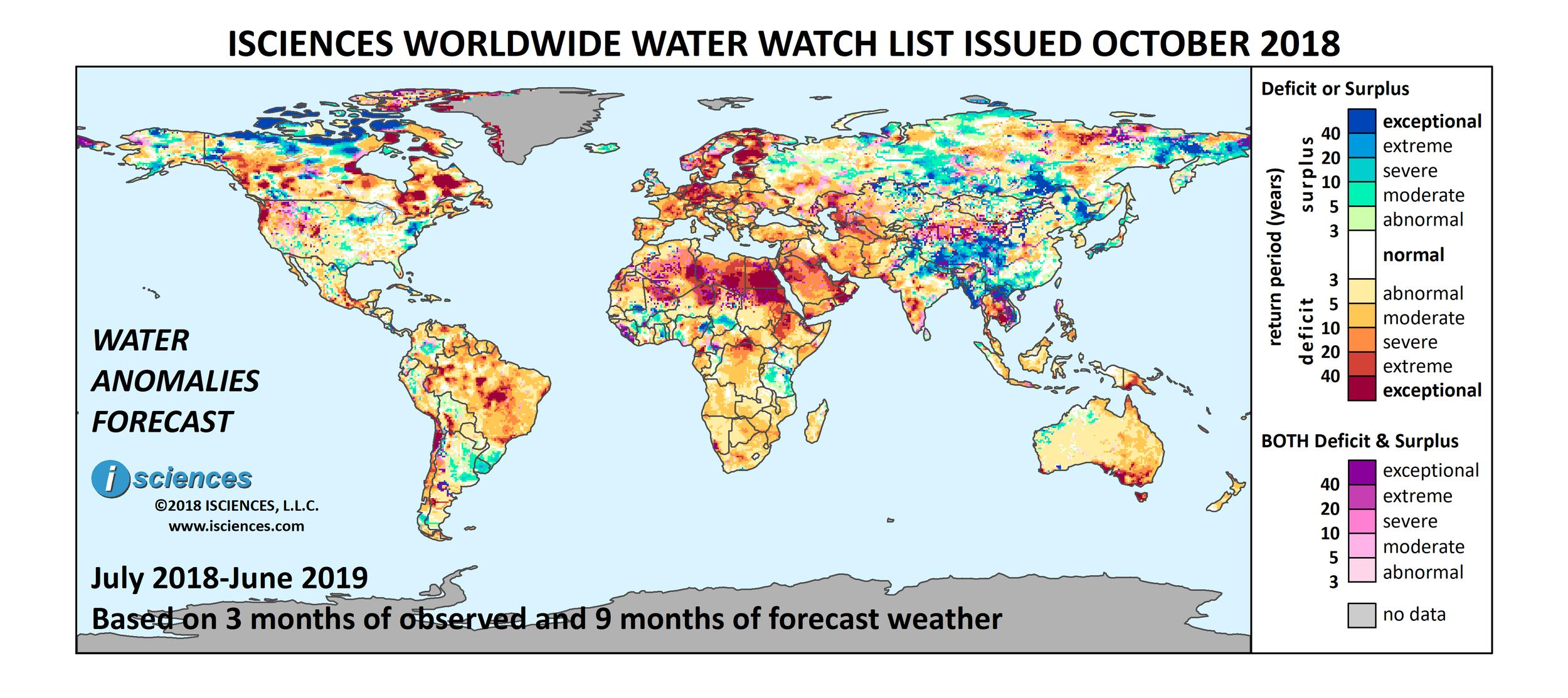 ISciences_Worldwide_Water_Watch_List_2018_October.png