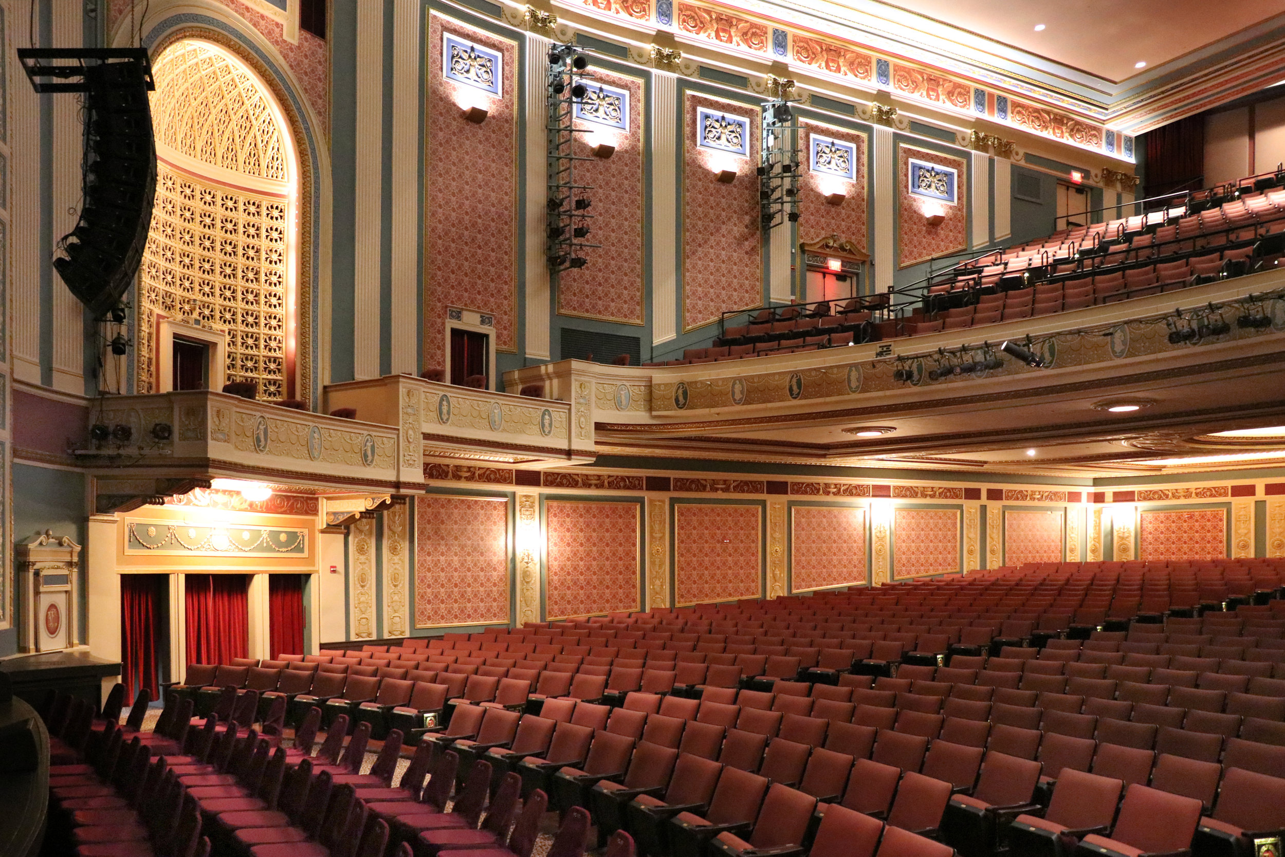 Lerner Theater Seating  Elkhart IN