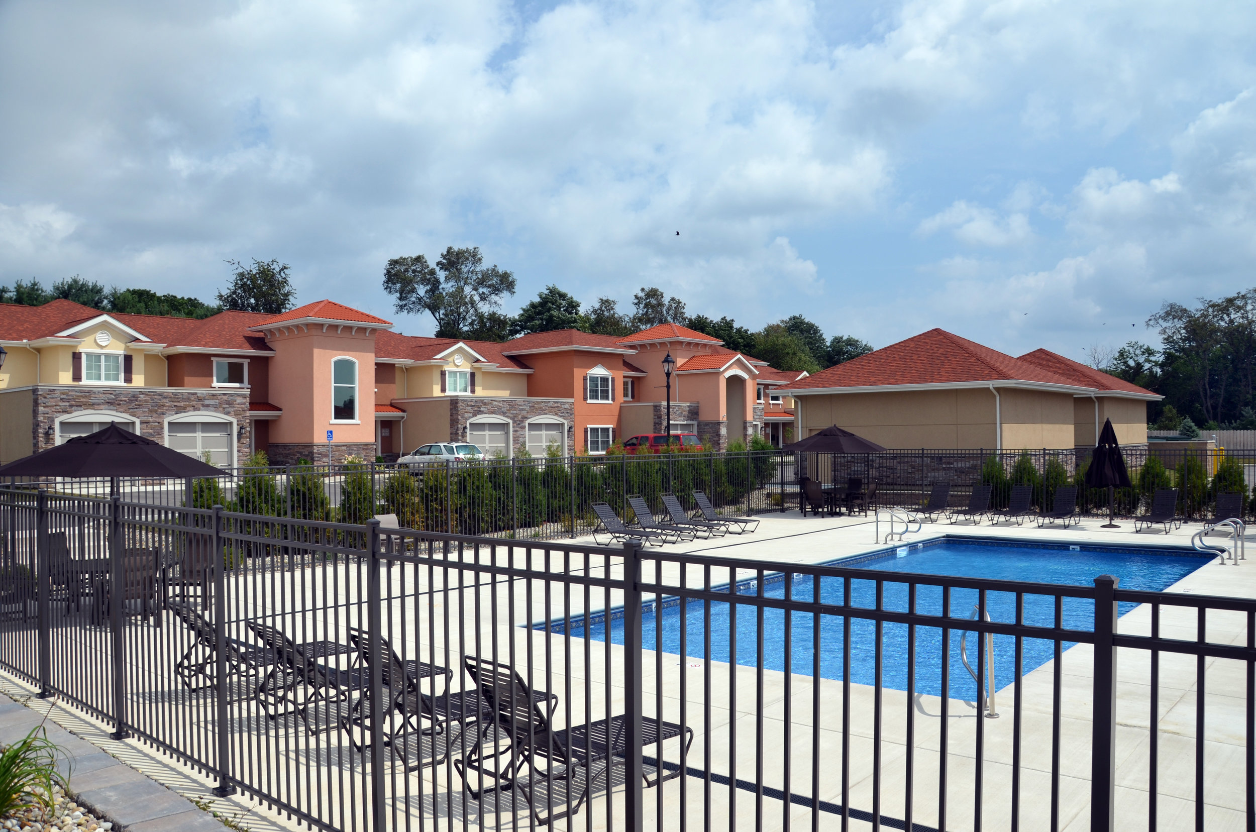 The Residences at Toscana Park Pool