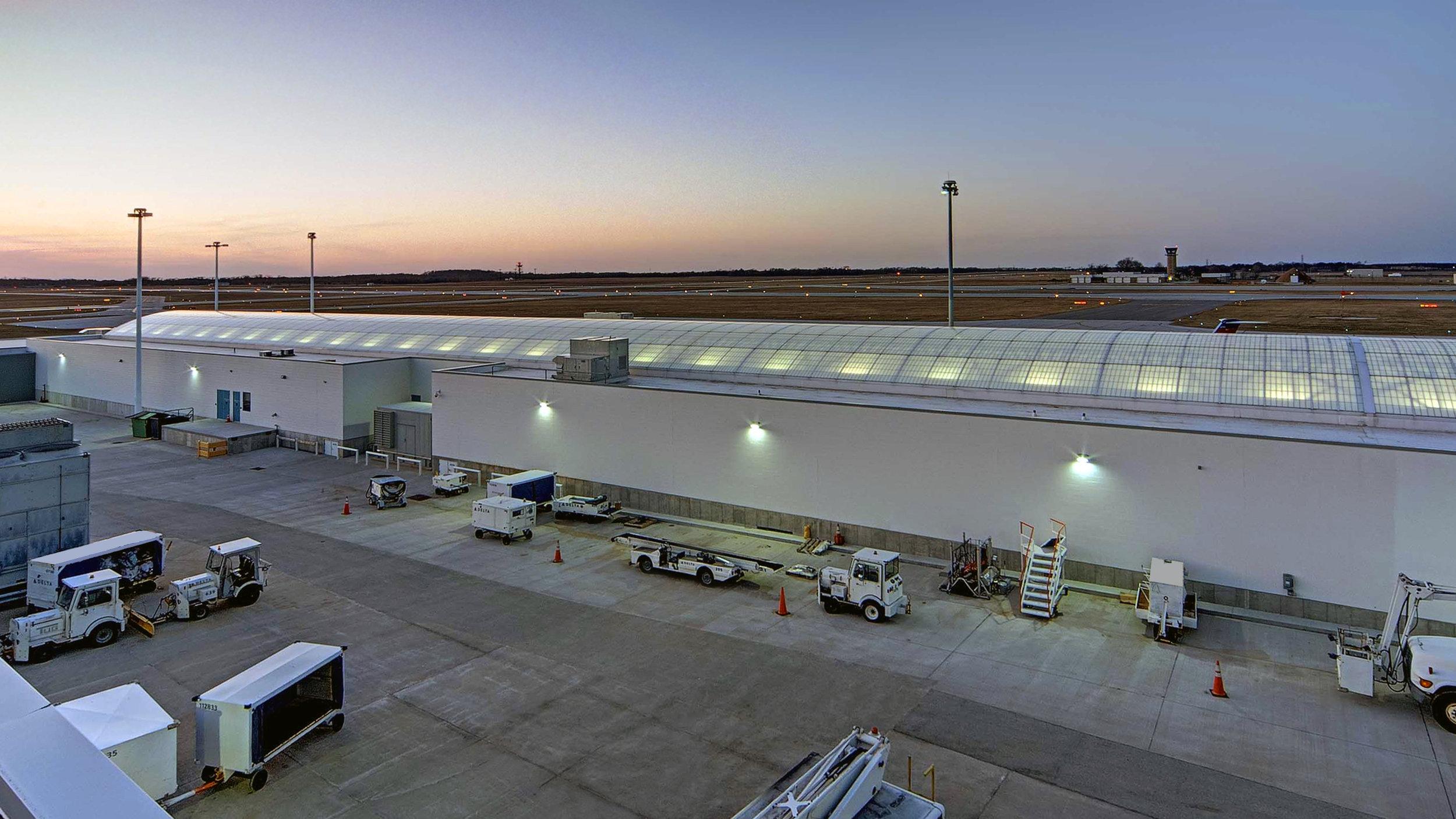 South Bend International Concourse Rear View.jpg