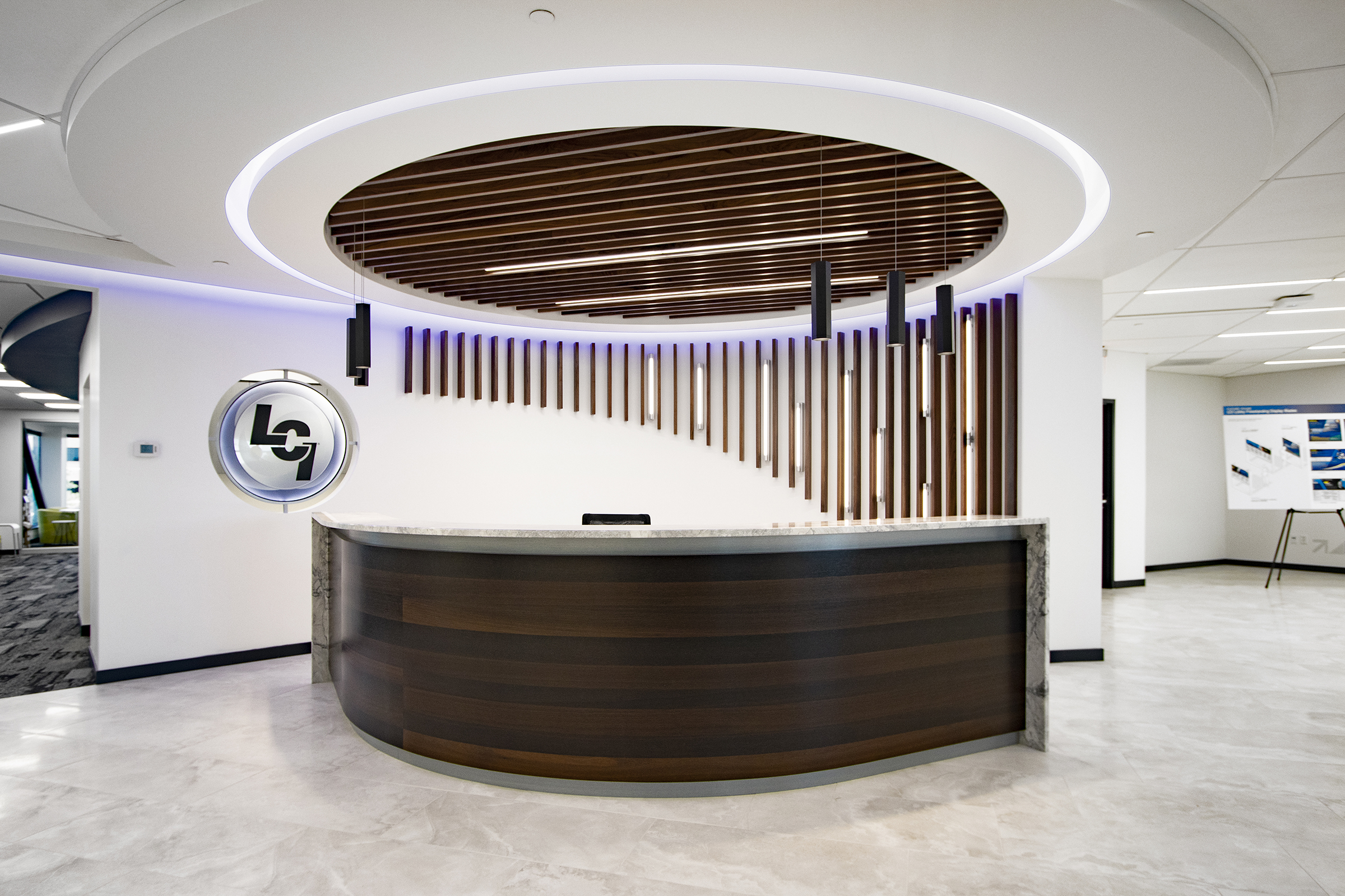 Lippert Components Office Lobby