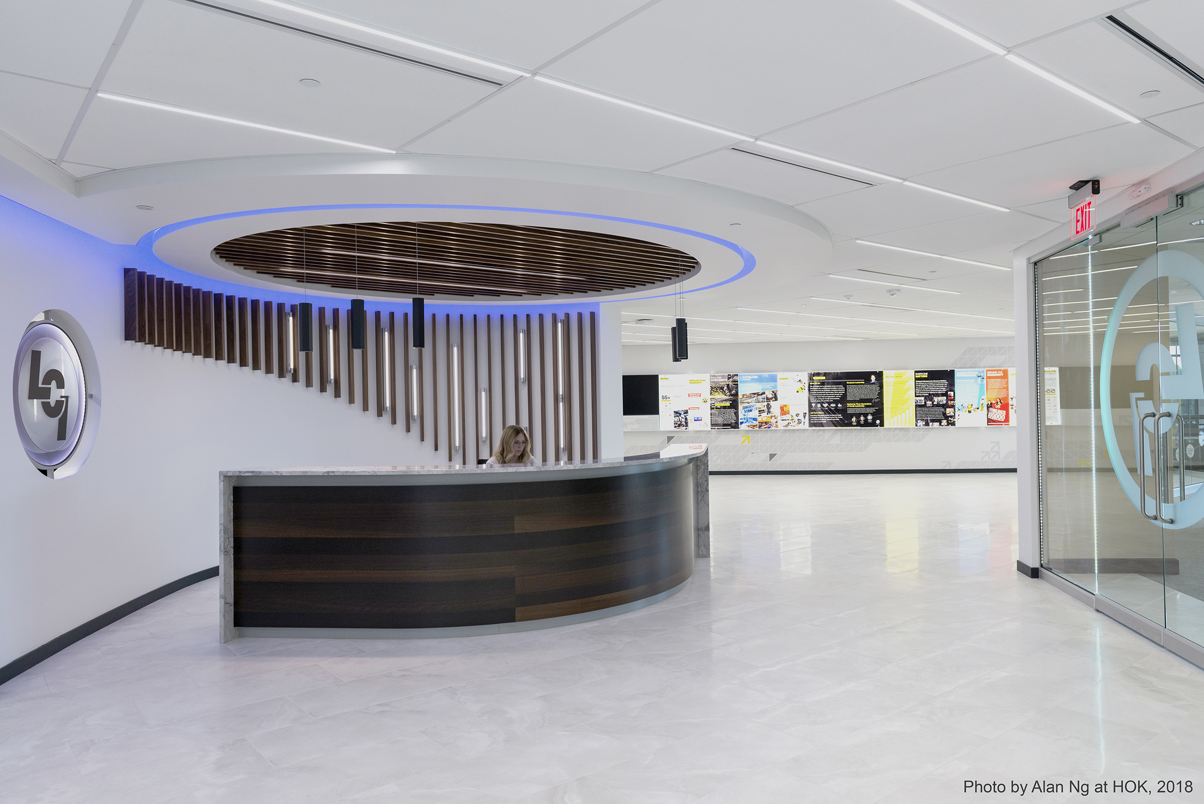Lippert Components Corporate Office Lobby