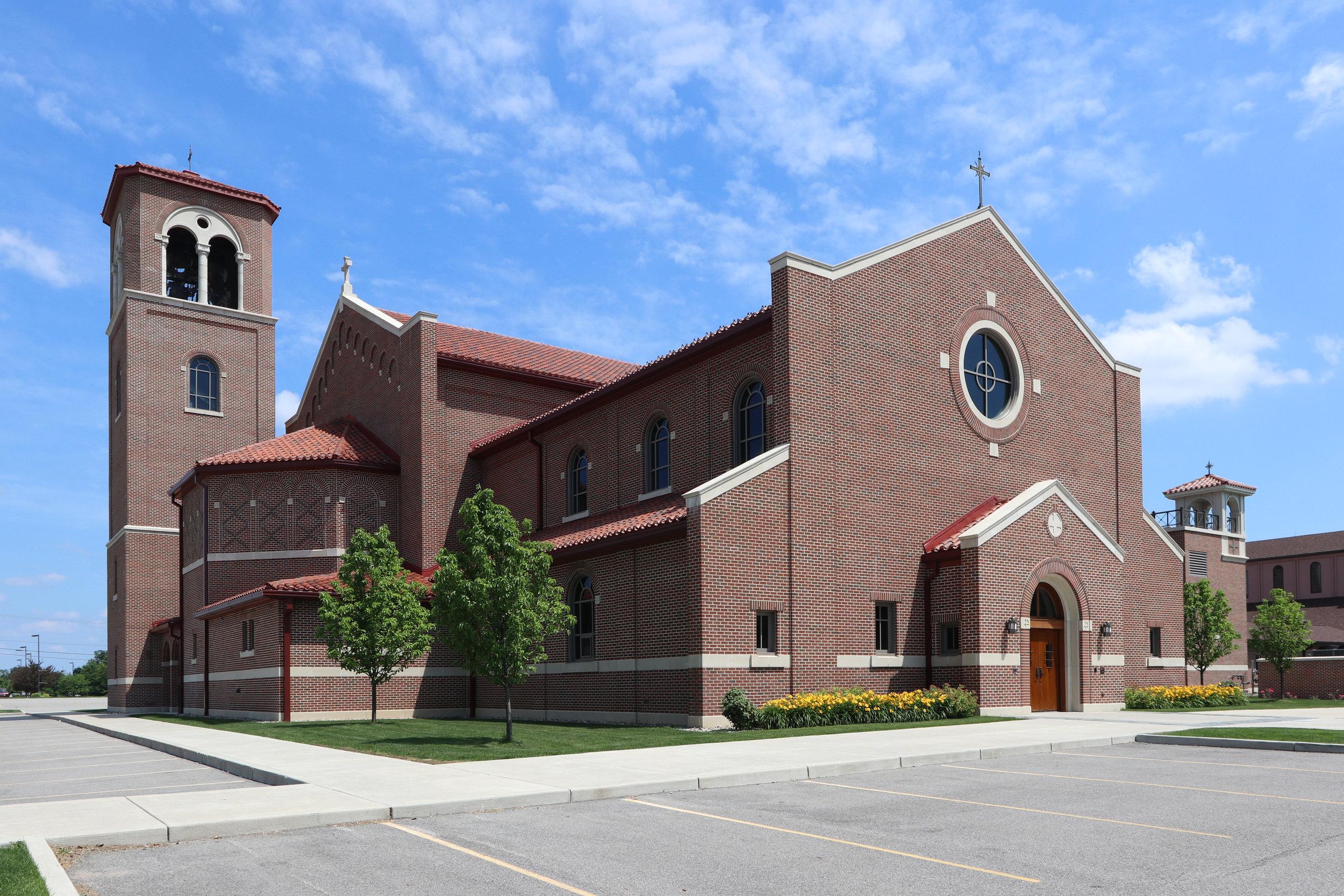 St Pius X Church Granger