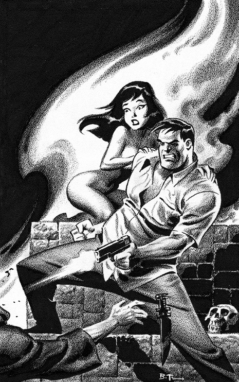 Art by Bruce Timm