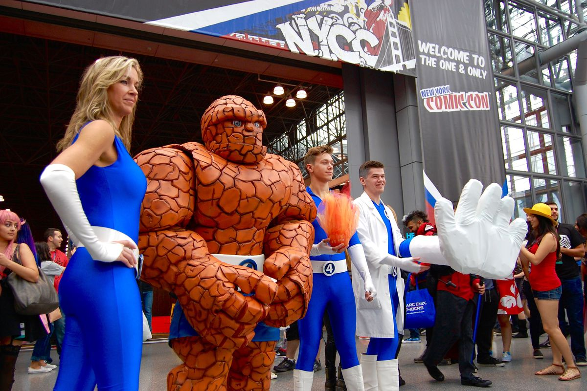 Picture from NYCC which at press time, we are not doing, but that could change.