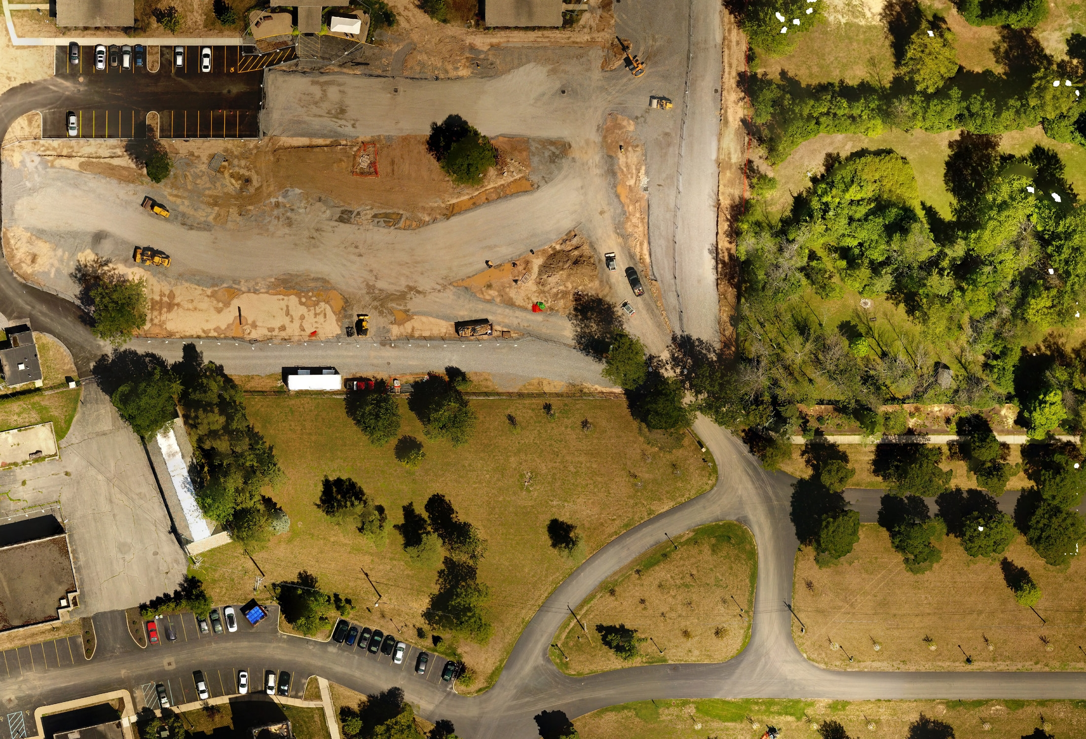 By precisely stitching hundreds of georeferenced images taken from a properly planned drone flight, we can quickly render accurate, beautiful and current map overlays at <2cm/pixel.