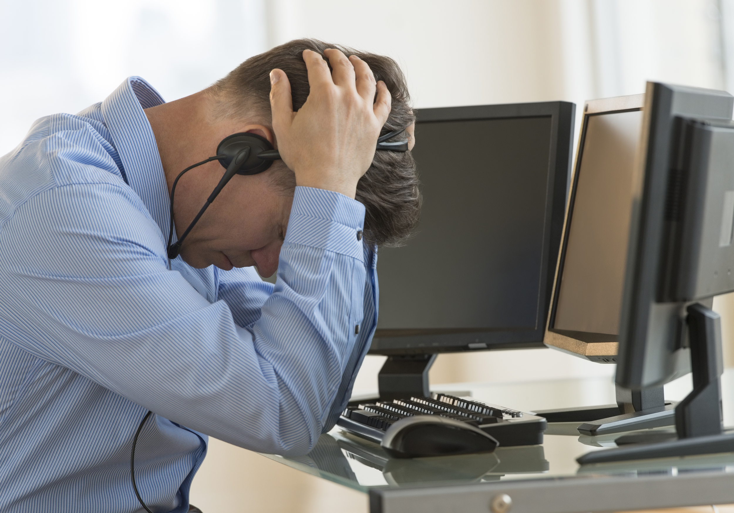 Stress is often ever-present in many forms of employment