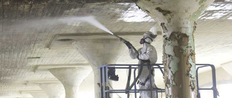 Lead removal with personal protective equipment