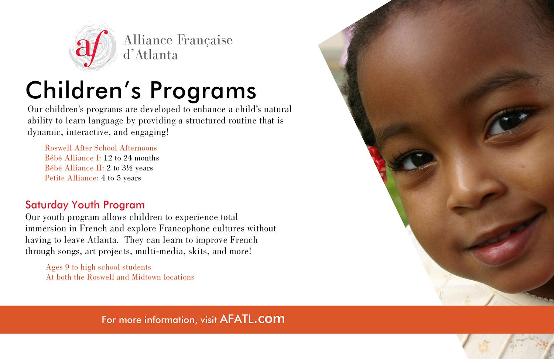 Program Info Card: Back