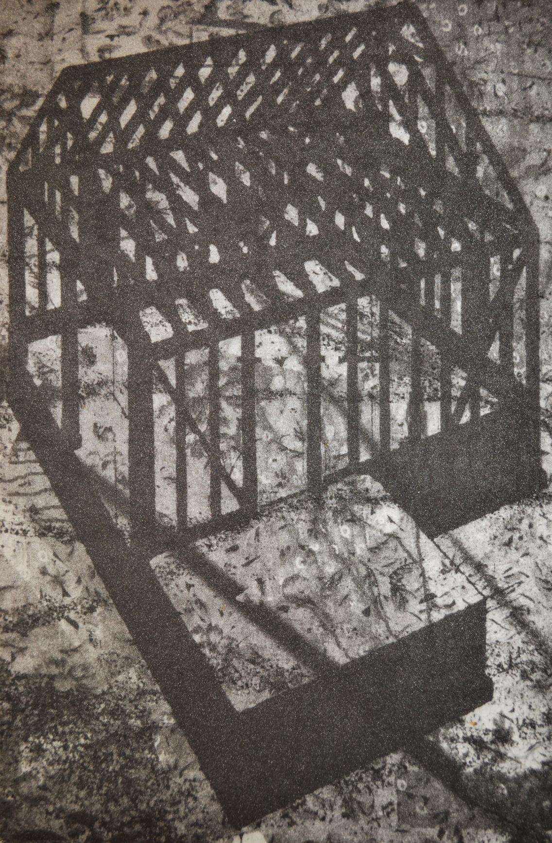 "Home, 9 x 6"", photogravure, 2013"