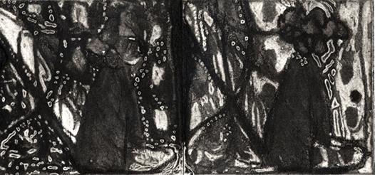 "Rumba,3.5x 7.25"",Polymer Plate,2004"