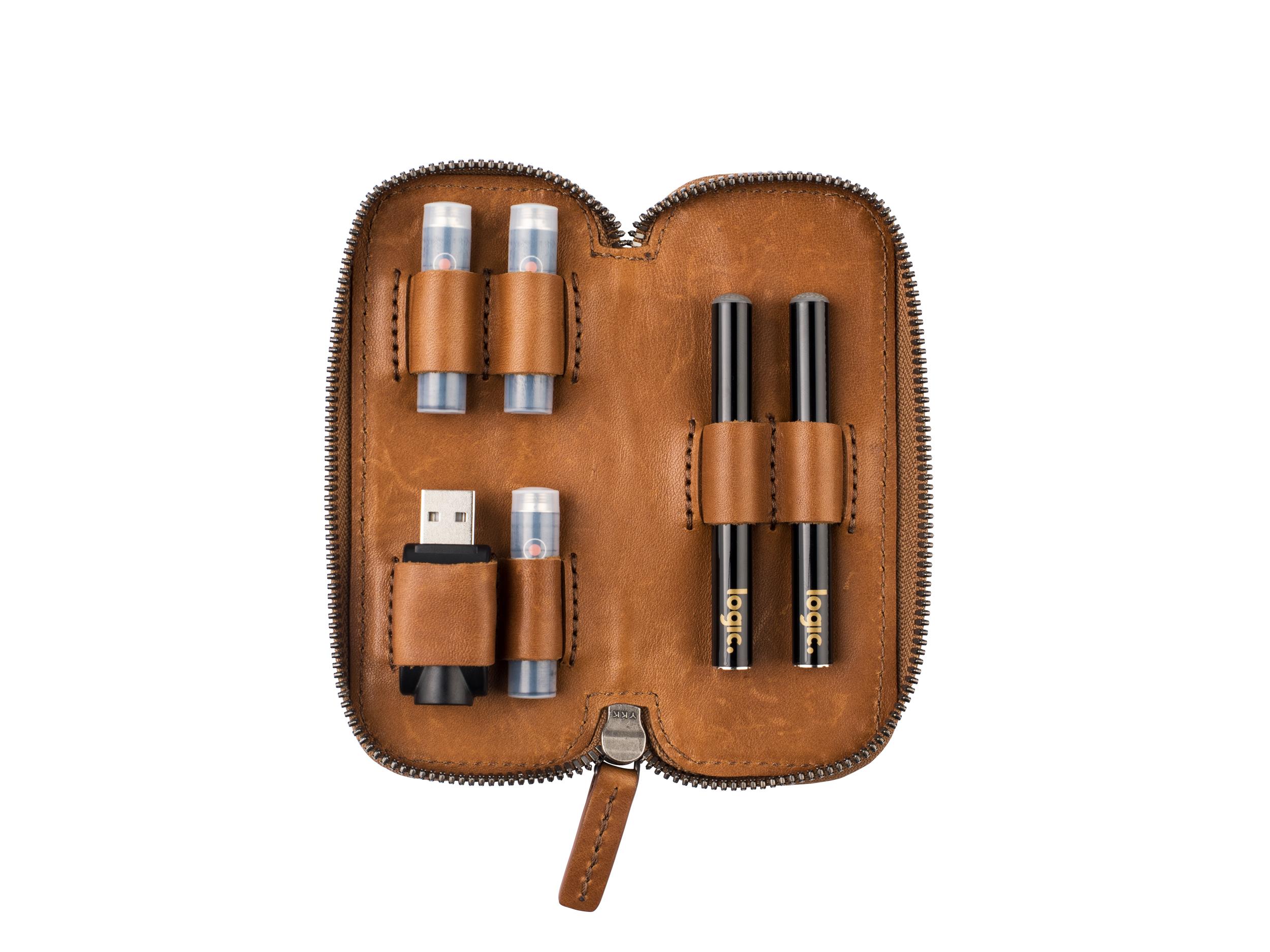 Logic Vape Leather Case (Small)