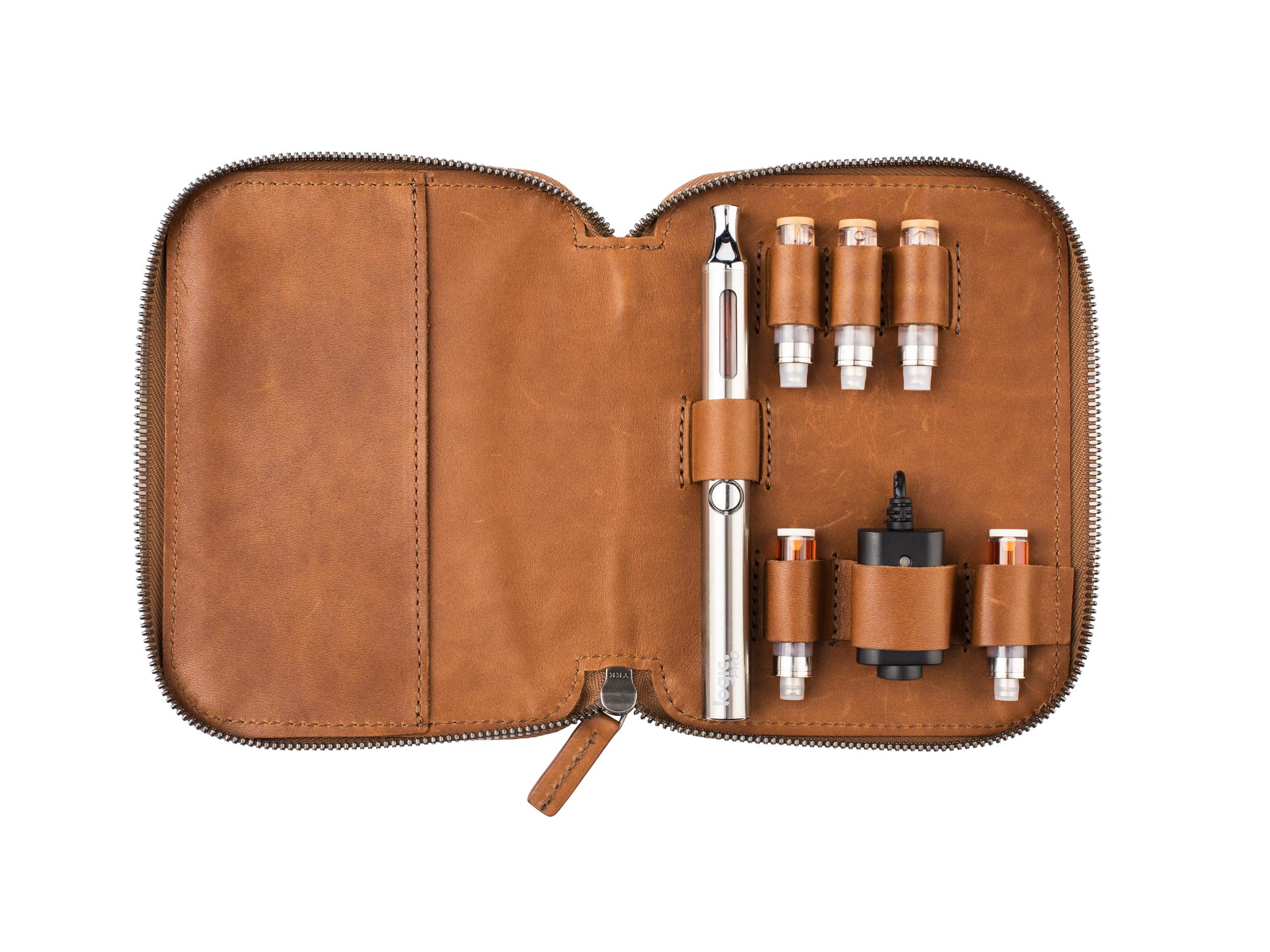 Logic Vape Leather Case (Large)