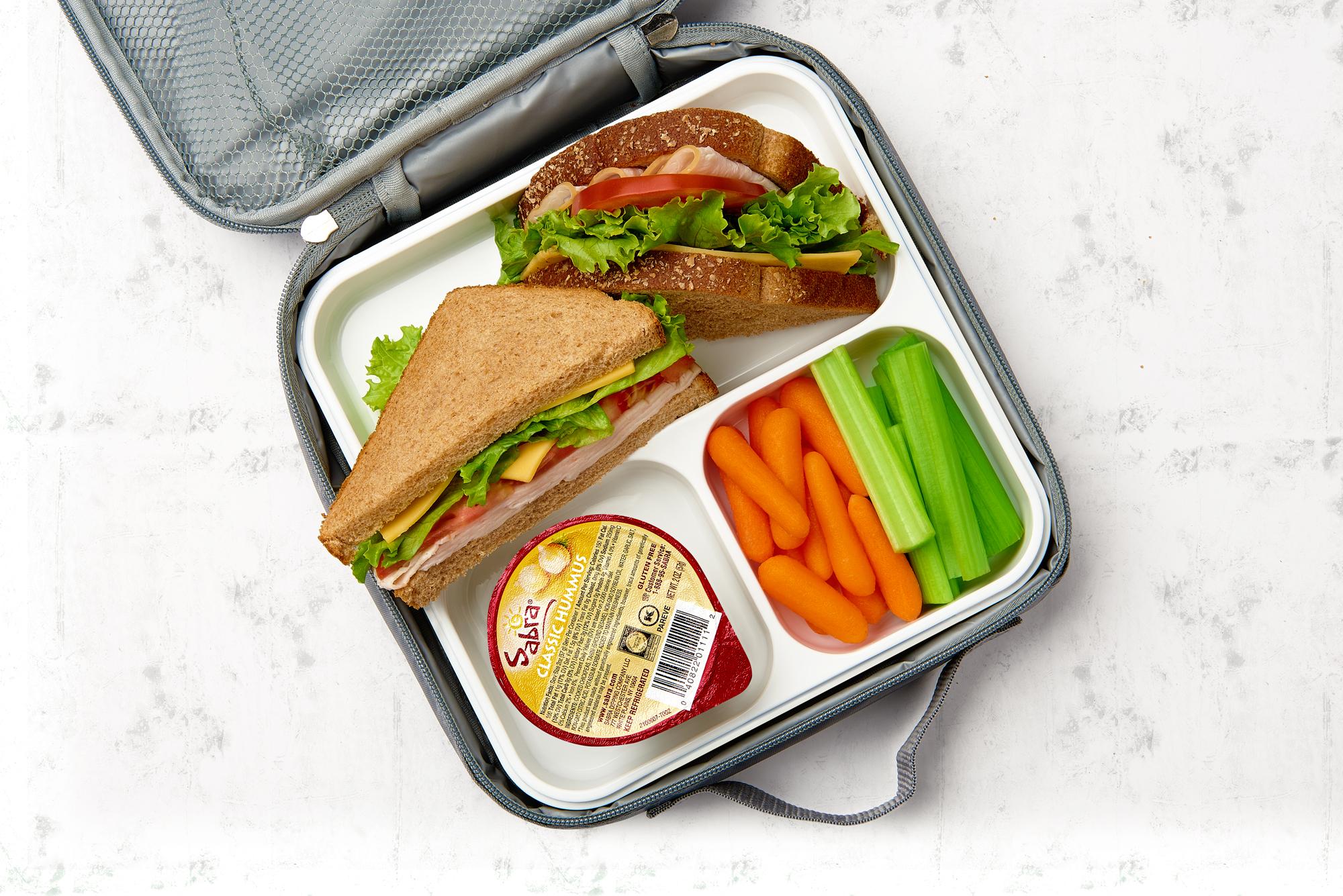 Sabra Go Back-to-School Hummus Pack Shot