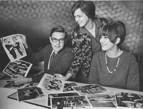 Theatre Three founders Jac Alder, Norma Young and Camilla Carr in 1961.