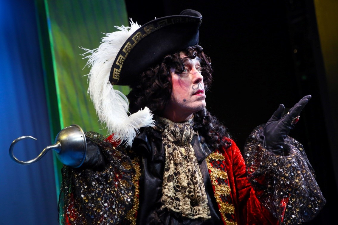Terrence Mann stars as Captain Hook in PETER PAN at Connecticut Repertory Theatre – June 2015
