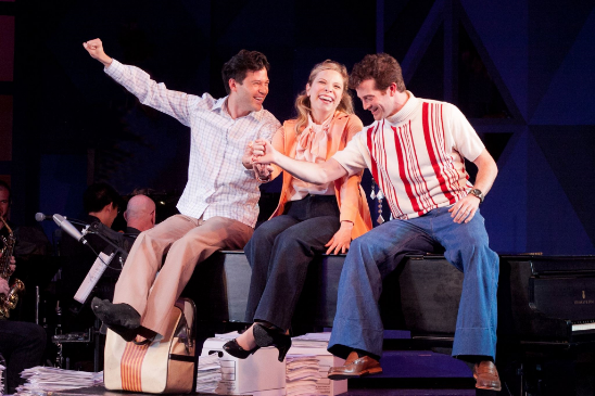 Pictured: (from left) Jason Tam, Lauren Marcus and A.J. Shively
