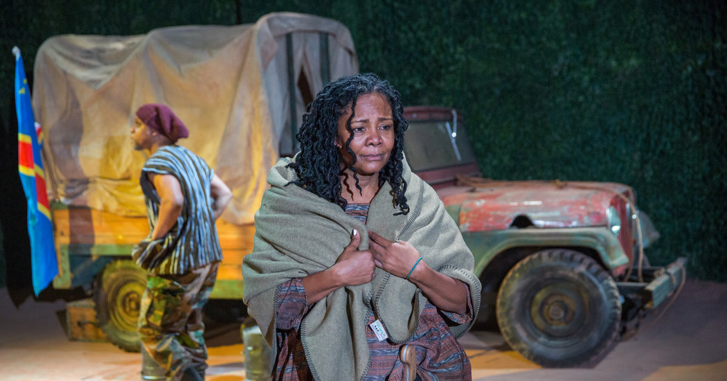 Tonya Pinkins in Mother Courage and Her Children Photo: Joan Marcus